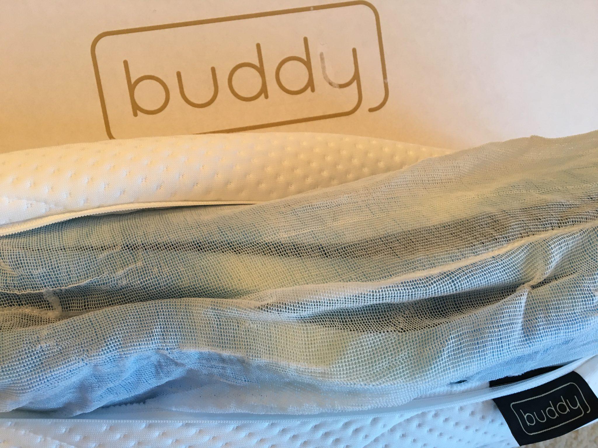 buddy netz optimales das beste kopfkissen. Black Bedroom Furniture Sets. Home Design Ideas
